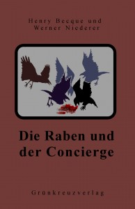 Die Raben und der Concierge, Roman Cover